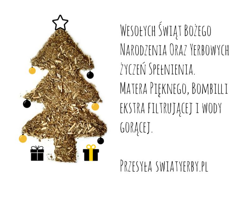 Choinka życzenia świąteczne