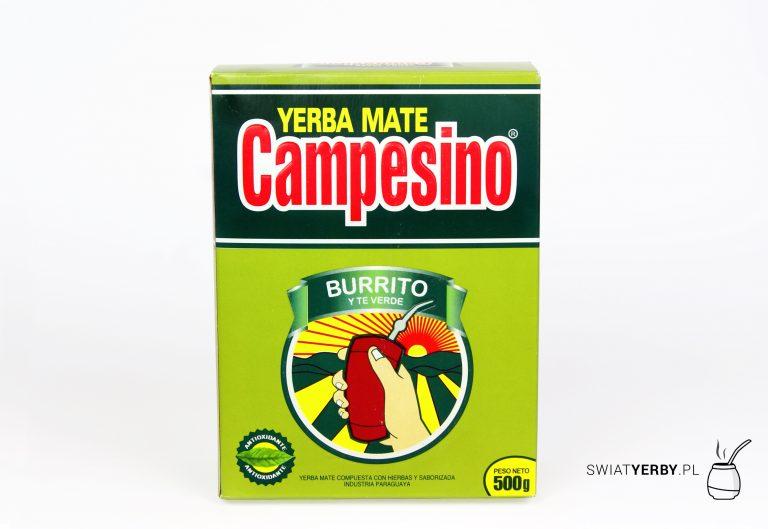Campesino burrito and green tea opakowanie