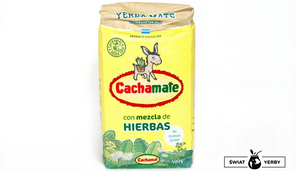 Cachamate Amarillo con mezcla de Hierbas (żółta)