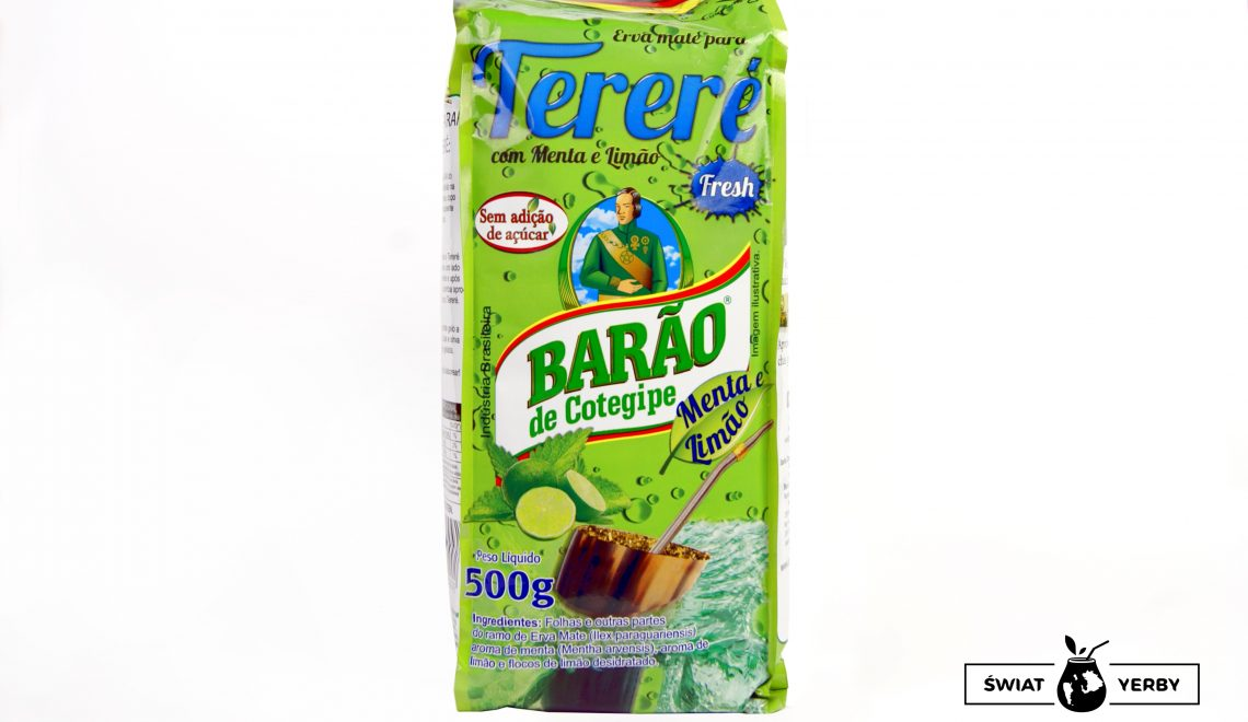 Yerba Mate Barao terere fresh menta limao opakowanie