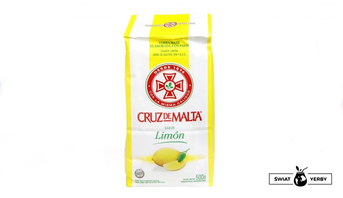 Yerba Mate Cruz de Malta Limon (cytrynowa)