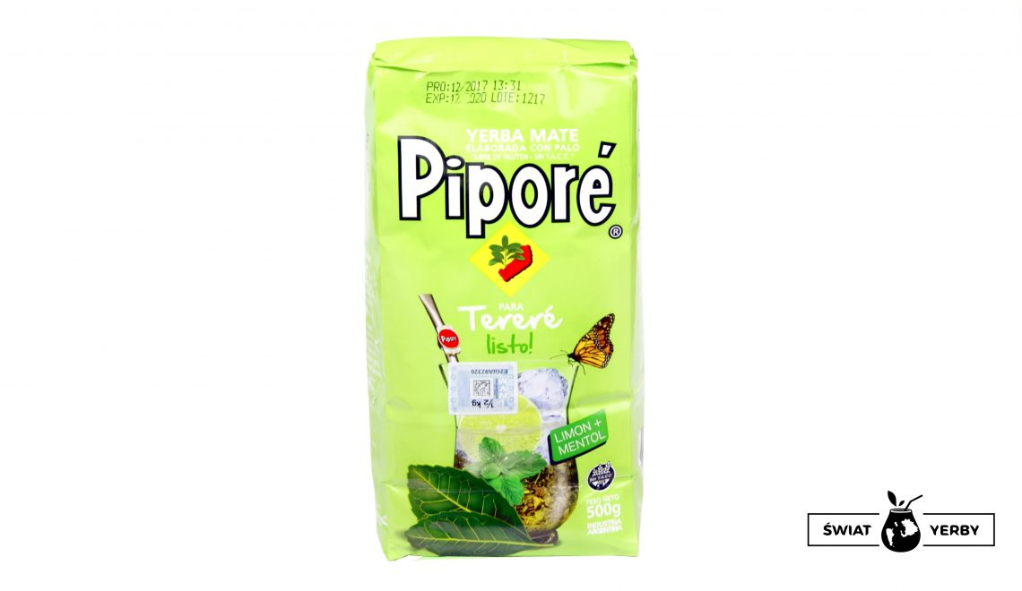 Pipore terere listo! limon + mentol