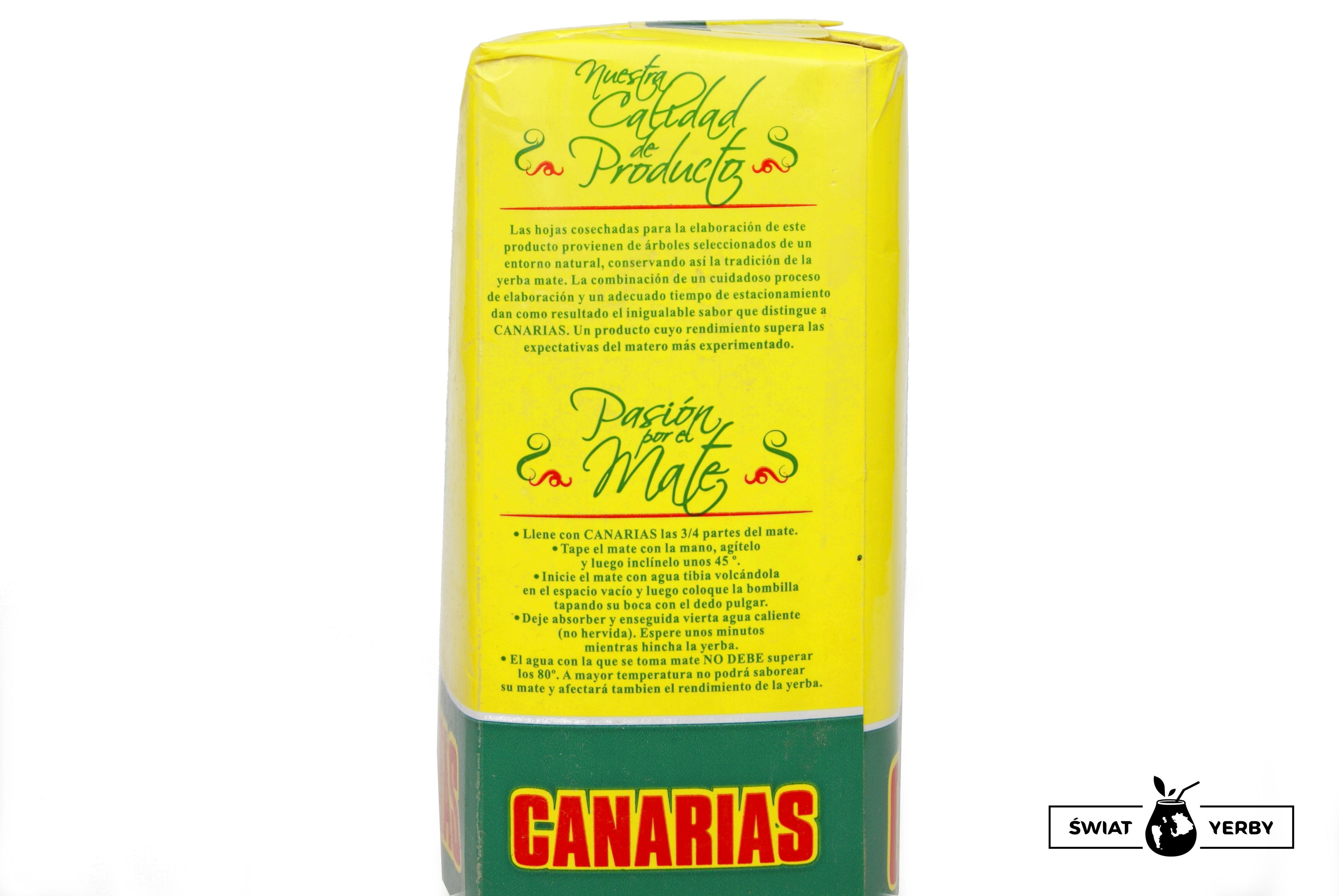 Canarias propozycja przygotowania