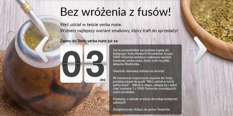 Źródło: testujemy.biedronka.pl