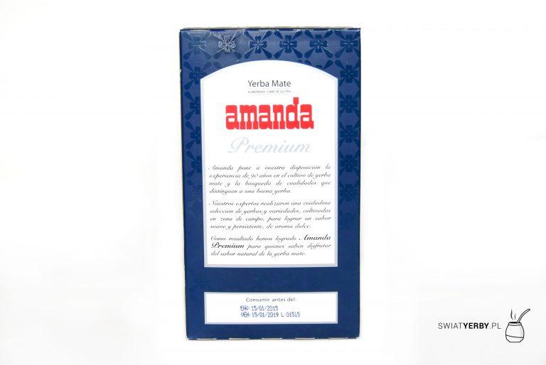 Amanda Premium opakowanie tyl
