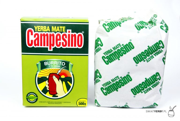 Campesino burrito and green tea srodek