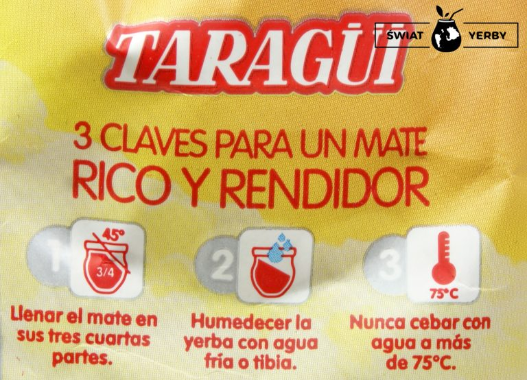 Taragui Naranja de Oriente propozycja przygotowania