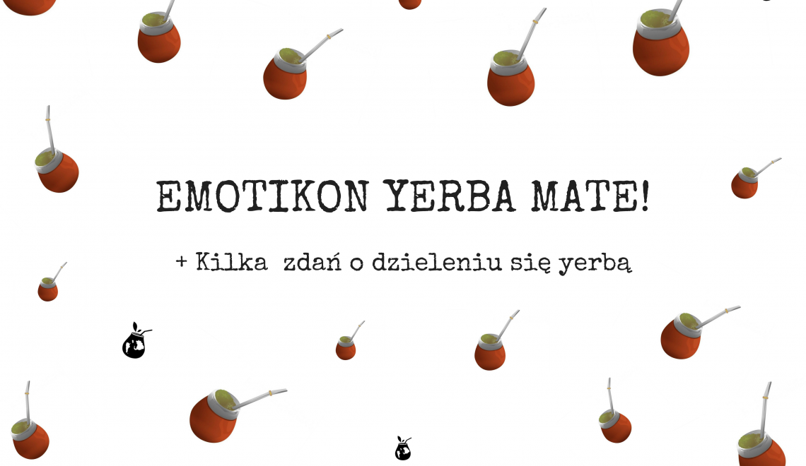 Emotikon yerba mate Emoji del Mate