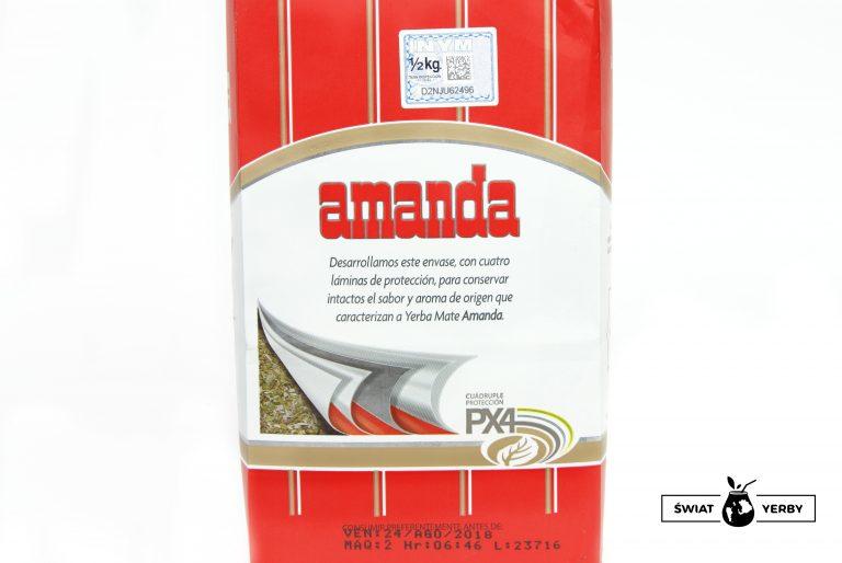 Amanda Elaborada opakowanie tył