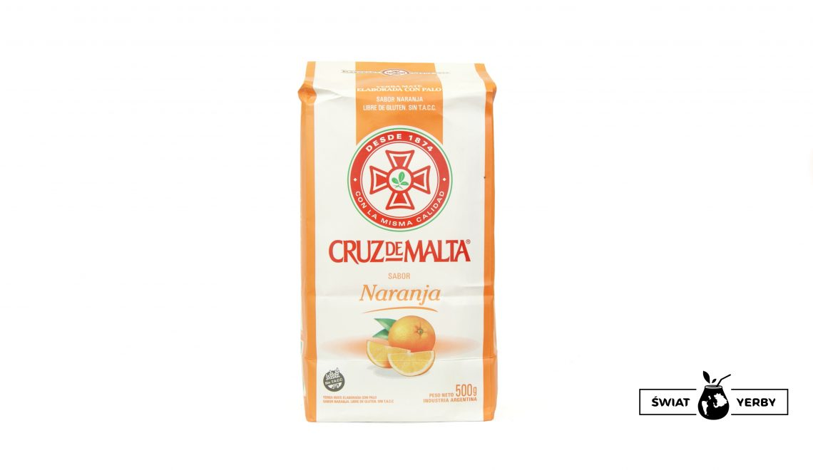 Cruz de Malta naranja opakowanie
