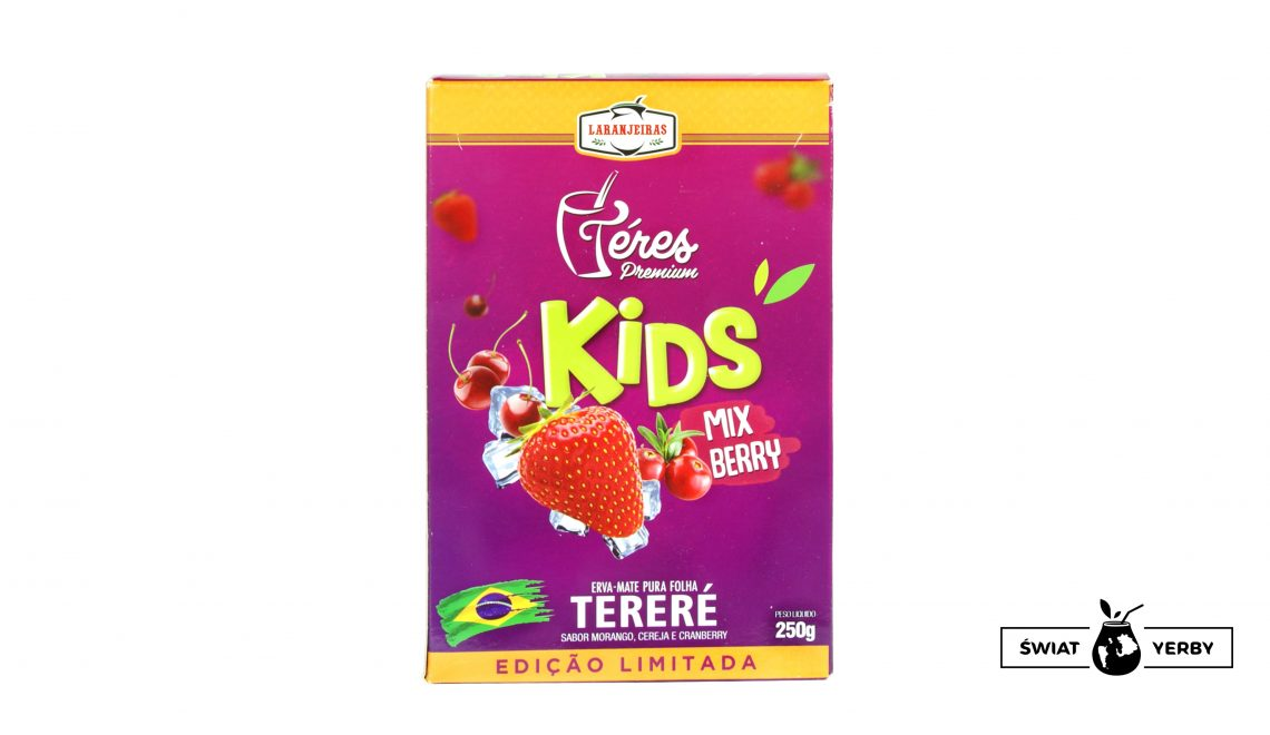 Laranjeiras Terere KIDS MIX BERRY