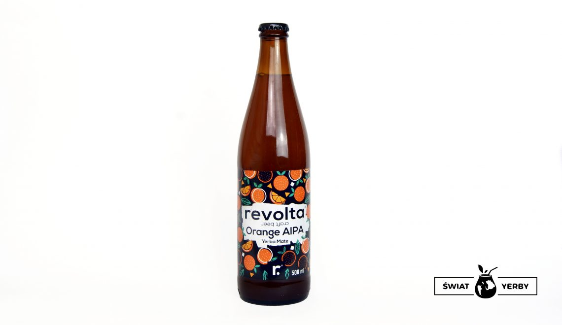 Piwo Revolta orange aipa