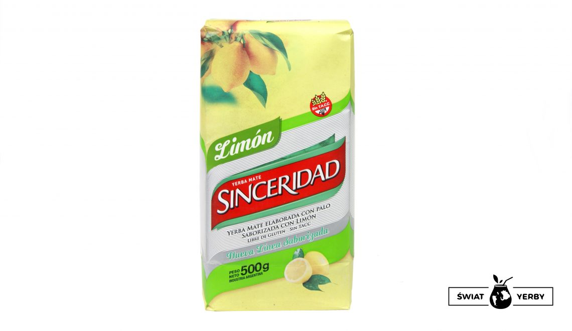Yerba Mate Sinceridad Limon (cytrynowa)