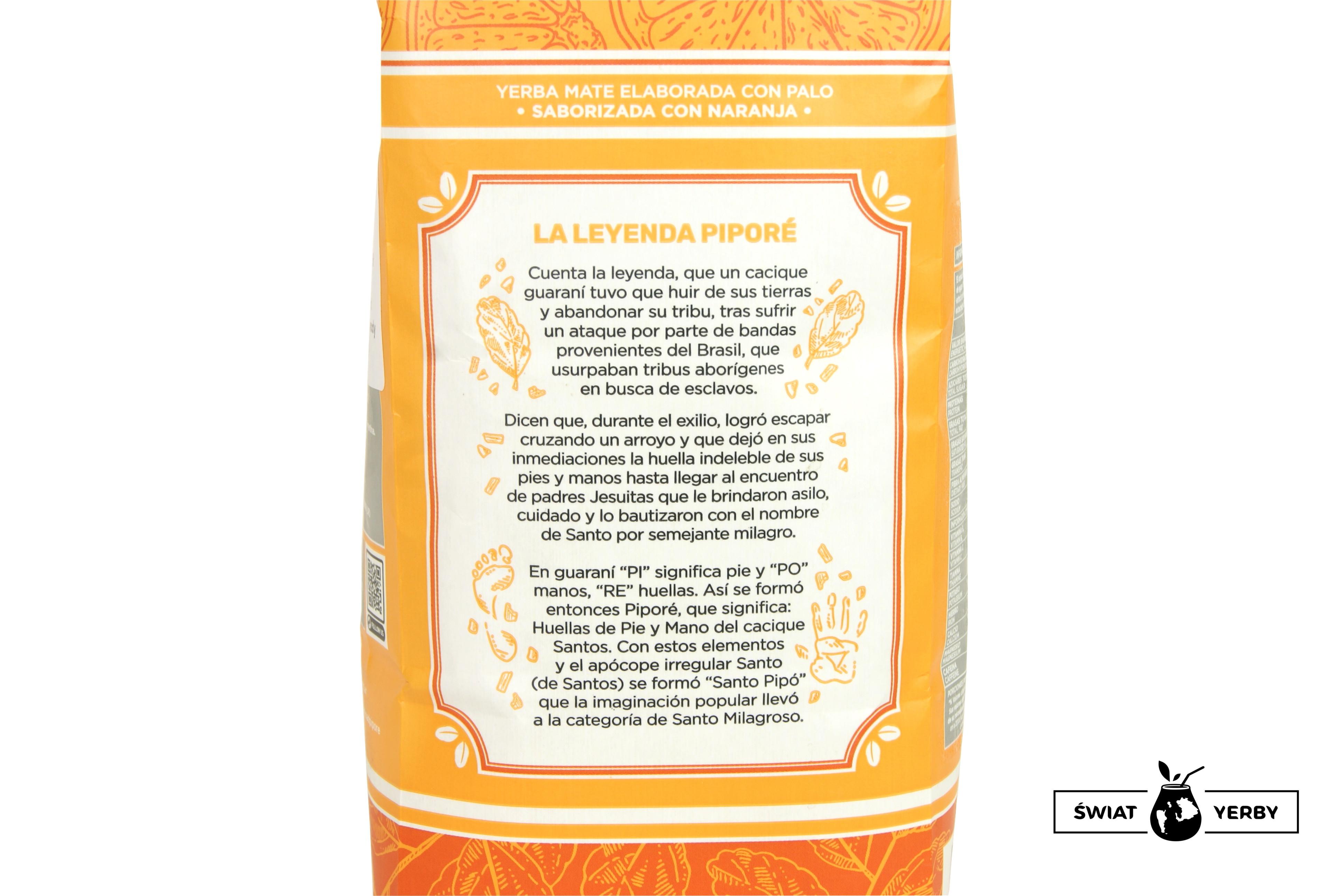 Pipore Naranja legenda
